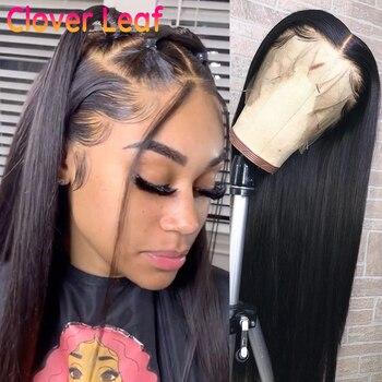 АФРИКАНСКАЯ ДЕВУШКА, оптовая продажа, прямые человеческие волосы, парики, бразильский 360 парик на сетке, прямой фронтальный парик Remy 150%, пари...