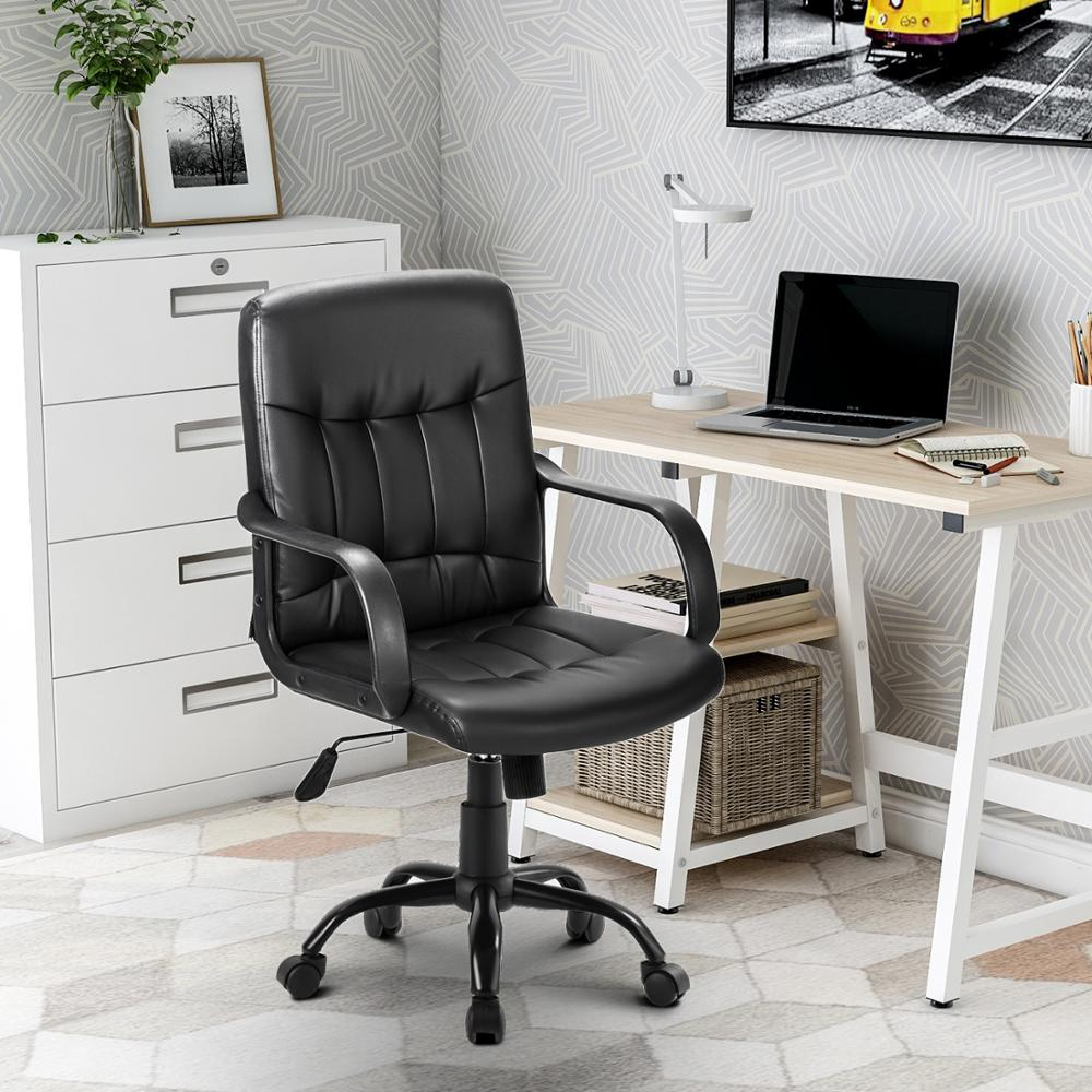 High Back Mesh Desk Swivel Chair For Home Office Task Chair Adjustable Height Executive Chair Recline Mesh Seat