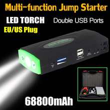 68800mAh 12V 600A LED Multifunction Jump Starter Portable Car Battery Booster Charger Booster Power Bank Starting Device(China)