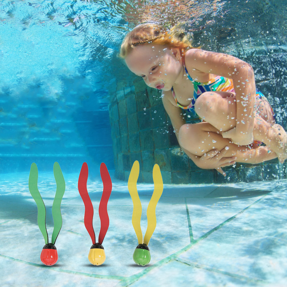 New Lightweight Pool Grass Toys Water Sports Underwater Diving Children Kid Seaweed Toy For Family Outdoor Water Decoration#37