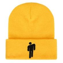 Теплая Зимняя кепка в стиле унисекс, хлопковые повседневные шапочки, шапка, однотонный трикотажный свитер в стиле хип-хоп, шапка, костюм, аксессуар