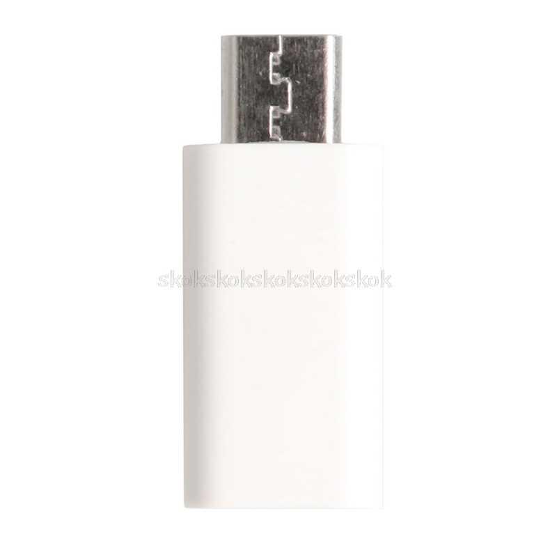 1 قطعة المصغّر USB 2.0 5Pin الذكور جاك إلى USB 3.1 نوع C موصل سالب البيانات محول