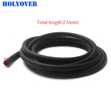 Tubo de gasolina de 2 metros, 5mm, I/D, 8mm, O/D, manguera de combustible para accesorios de motocicleta