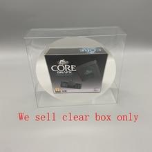 Clear transparent  cover for  KONAMI mini  for PC Engine CoreGrafx US EU Japan version Game console storage display box  plastic