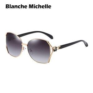 Image 3 - אופנה ארבעה עלים מקוטבות מותג מעצב UV400 יוקרה שמש משקפיים אישה oculos 2020 עם תיבה sunglasses women sunglass woman sun glasses
