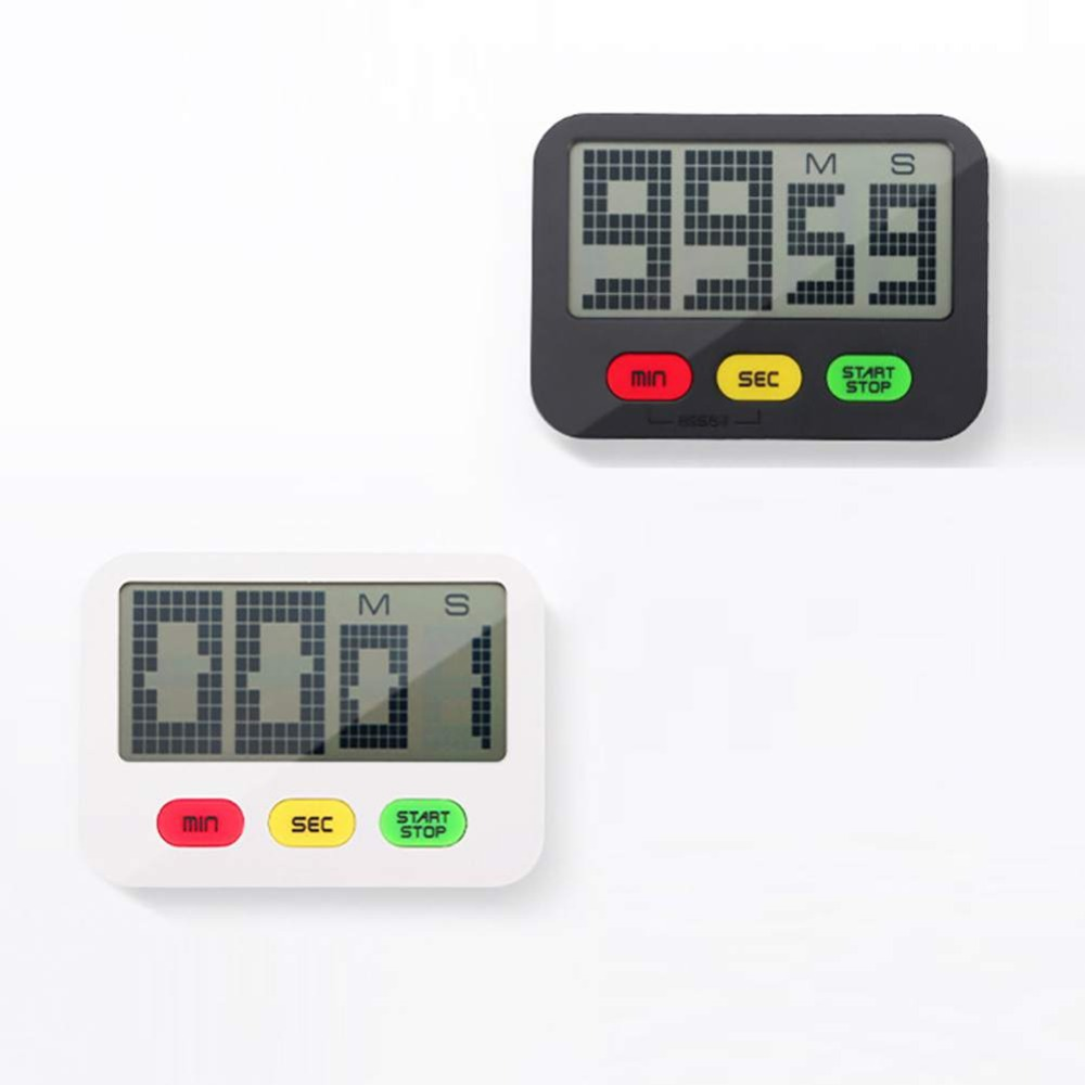 Practical Use Digital Cooking Timer Kitchen Stopwatch Tools Large Electronic Gadgets Home Display