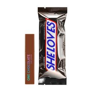 8 цветов шоколад матовая губная помада для макияжа пикантные бархатная губная помада блеск для губ косметический набор блеск для губ прочно...