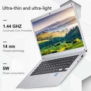 Image 3 - feed me 14.1 Inch Laptop 2GB RAM 32GB ROM Intel Atom X5 Z8350 Quad Core CPU Windows 10 HD Screen Notebook BT4.0 with HDMI Port