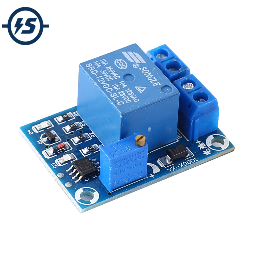 Battery Protecter Over-discharge Protection Module 10A Low Voltage Protection Board Only For 12V Battery