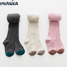 Menoea Baby Tights Spring Solid Kids Costume Autumn Baby Girl Warm Pantyhose Fashion Child Dance Tights Baby Bottom Pantyhose menoea baby outerwear