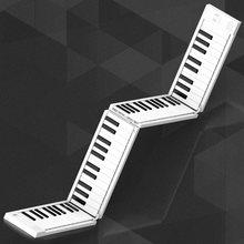 المحمولة باليد توالت البيانو 88 مفاتيح للطي لوحة المفاتيح دعم سماعة إخراج المهنية الإلكترونية البيانو للمبتدئين طالب