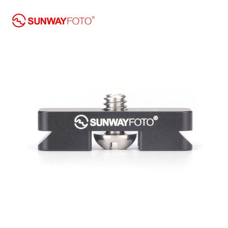 SUNWAYFOTO DP-12 видео светильник Специальный мини БЫСТРОРАЗЪЕМНАЯ пластина DP-12