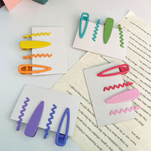 Candy Colored Hairpin, Korean teen BANGS OR FRINGES OF HAIR, children's hairpin, bb clip, hairpin, headdress