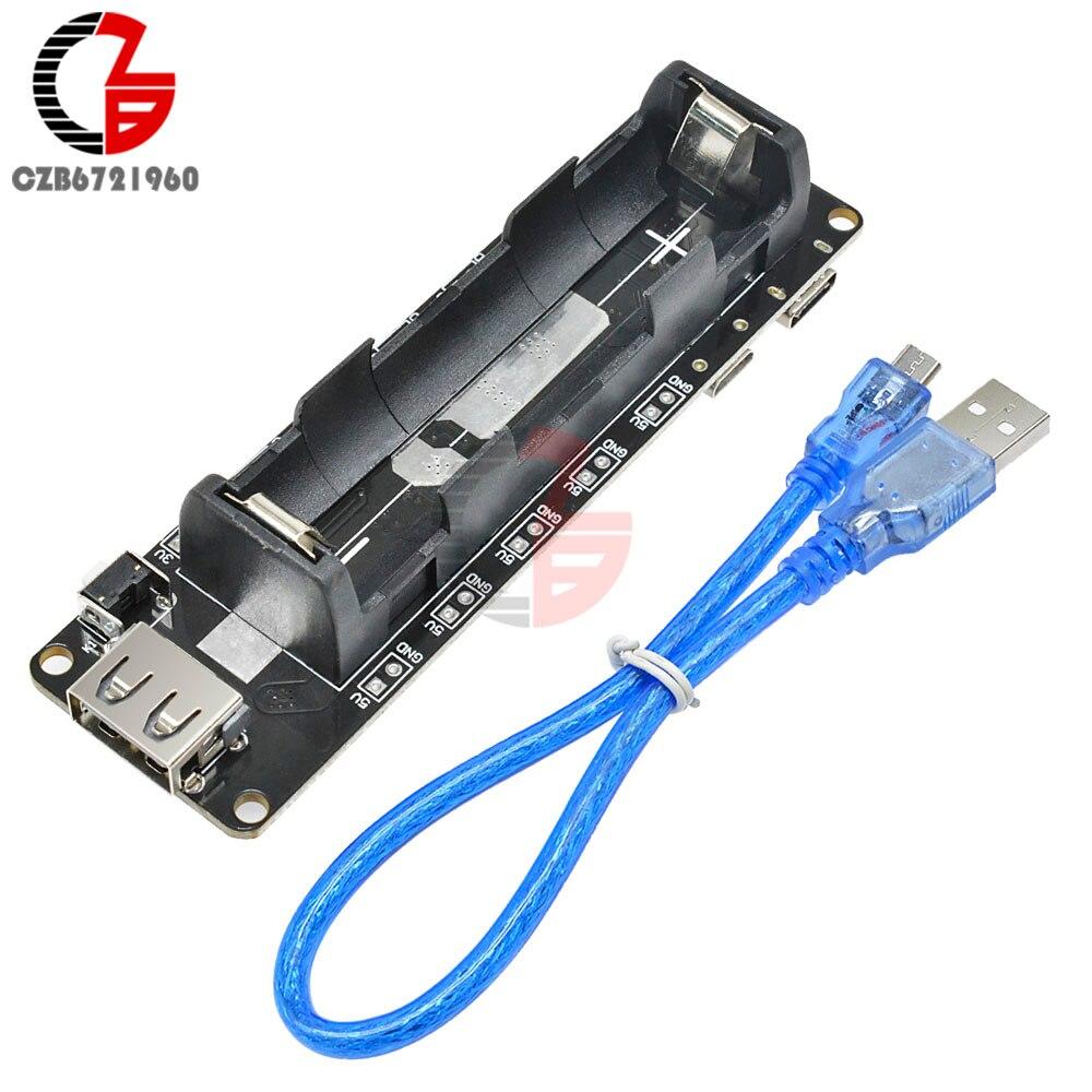 ESP32 ESP32S 18650 Batterie Schild V3 Expansion Board Micro USB Port Typ-EINE USB 0,5 EIN Modul für Arduino wemos Raspberry Pi
