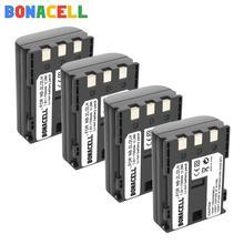 цена на Bonacell 1700mAh NB-2L NB-2LH battery for Canon EOS 400D S80 S70 S50 S60 350D G7 G9 Kiss N X Rebel XT digital Camera batteries