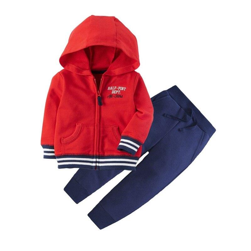 Одежда для маленьких девочек пальто с капюшоном с длинными рукавами и вышитым единорогом+ штаны, г. Весенняя одежда для маленьких мальчиков комплект для малышей, одежда для малышей - Цвет: 16