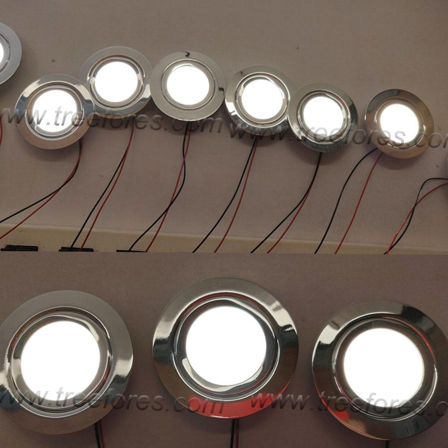 aço inoxidável fino 14mm 12v crescer iluminação