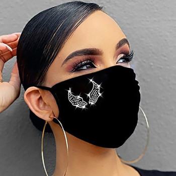 Bling Drill Unisex Mouth Masks For Women Men Face Cover Luxury Sequins Dustproof Windproof Reusable Mouth-muffle Mascarilla New