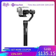 FeiyuTech G5GS 3 Achse Splash proof Gimbal Handheld Stabilisator für Sony Action Kamera AS50 AS50R Sony X3000 X3000R 130g 200g