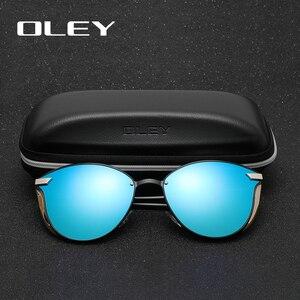 Image 5 - OLEY Cat Eye Sunglasses Women Polarized Fashion Ladies Sun Glasses Female Vintage Shades Oculos de sol Feminino UV400 Y7824