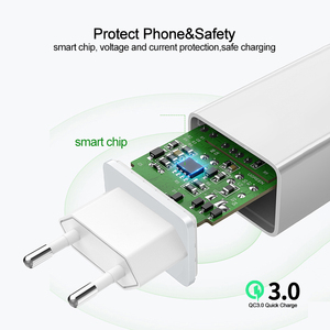 Image 3 - Phomax usb 충전기 3.0 18 w 빠른 전화 충전기 아이폰 x xs 8 7 ipad 삼성 갤럭시 s8 s9 갤럭시 htc xiaomi mi8 화웨이 넥서스