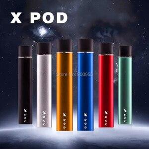 Image 1 - Kamry X Pod Vape Kit 280mAh LED power anzeigt Pod system Vape Stift Elektronische Zigarette verdampfer 0,8 ml patrone VS w01 pod