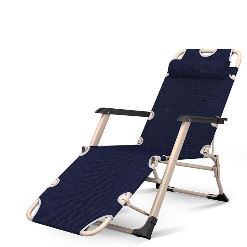 Folding Bed Single Siesta Bed Siesta Magic Device Adult Office Simple Camp Bed Portable Family Recliner Cool Bed
