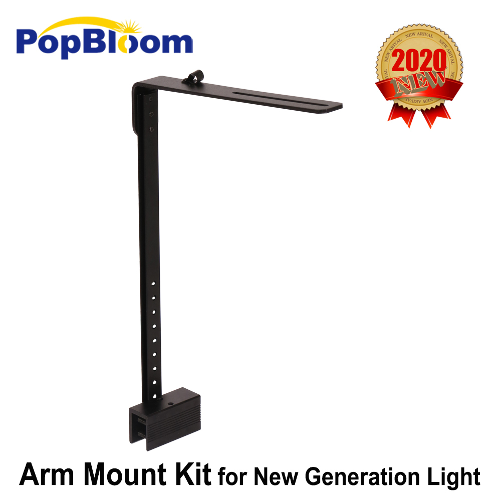 PopBloom led aquarium light arm mounting kit for marine fish,coral reef LPS fresh plant led lighting accessory mounting way|Portable Lighting Accessories| - AliExpress