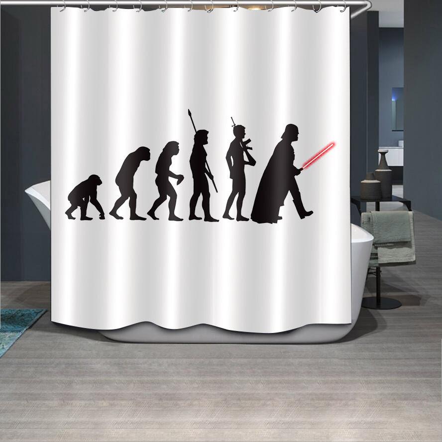 Tende Vasca Da Bagno In Tessuto.Anime Star Wars Tessuto Tenda Della Doccia Bagno Impermeabile