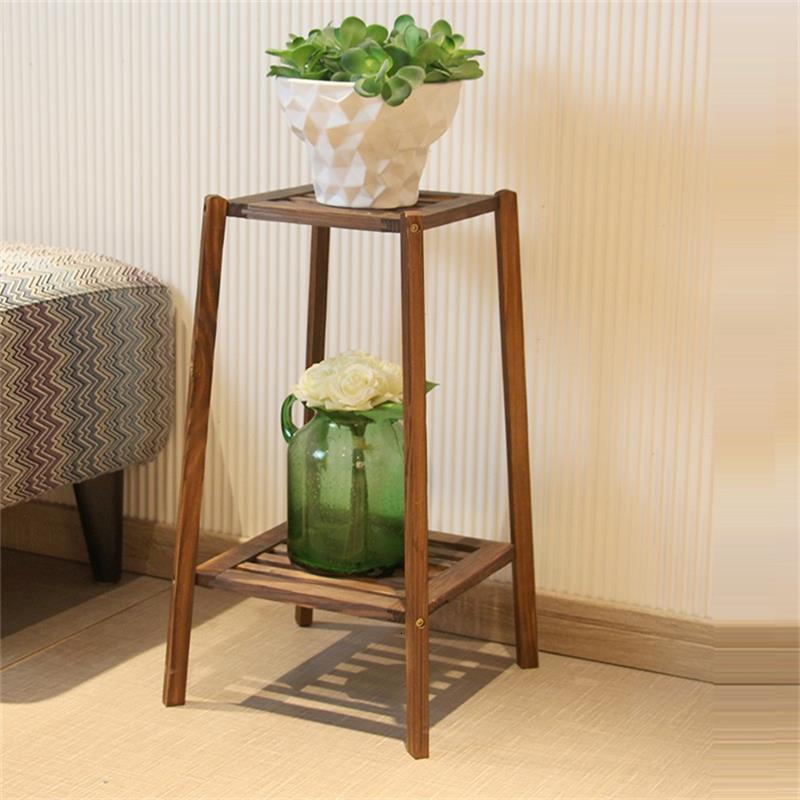 Saksi Standi Living Room Indoor Pot Ladder Mueble Para Plantas Rack Dekoration Stojak Na Kwiaty Outdoor Flower Stand Plant Shelf