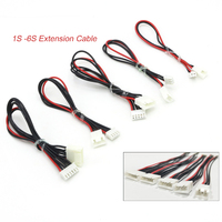 5 teile/los JST-XH 1S 2S 3S 4S 5S 6S 20cm 22AWG Lipo Balance draht Verlängerung Aufgeladen Kabel Blei Kabel für RC Lipo Batterie ladegerät
