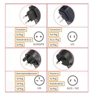 Image 5 - 2 sztuk wtryskiwacz POE 48V 0.5A POE mocy Adapter wtryskiwacza dla wideo IP kamera monitorująca 802.3af ue/US/AU Plug