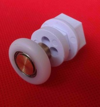 8pcs Door Rollers Home Bottom Top Shower Rollers/Runners/Wheels Replacement Single Wheel for Enclosures Cabins