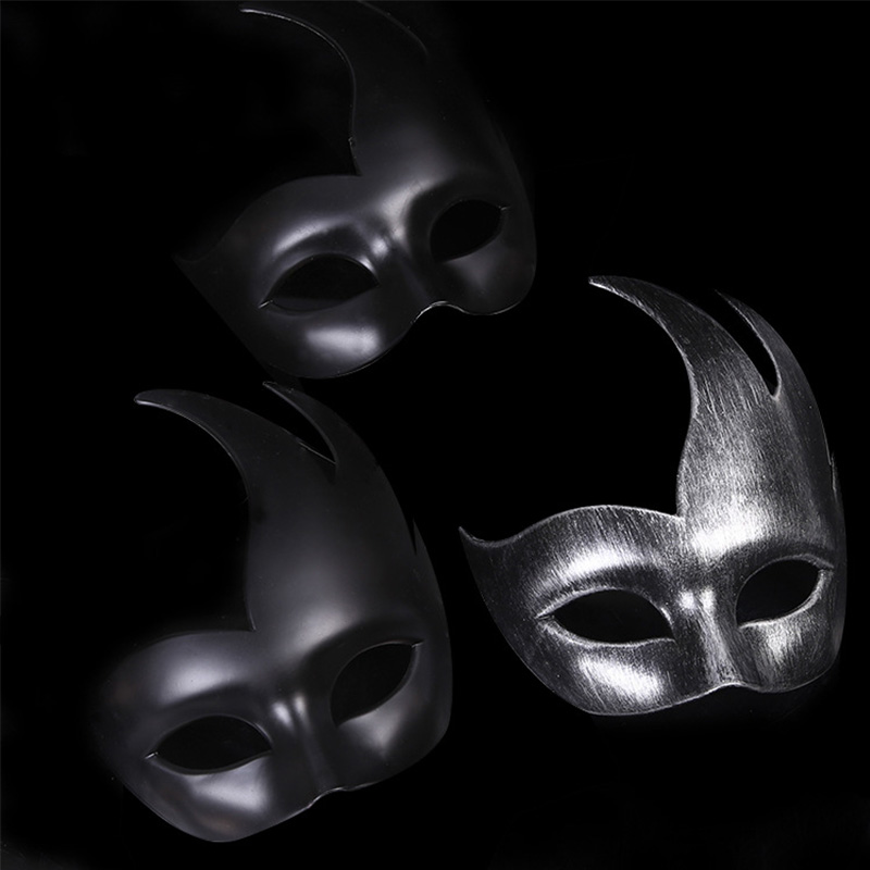 Image 4 - Archaize Halloween Mask Venice Mask Party Supplies Masquerade Mask Christmas Halloween Venetian Costumes Carnival Anonymous Mask-in Party Masks from Home & Garden