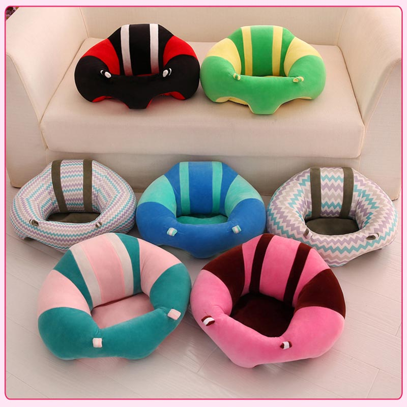 Newborn Baby Sofa Baby Support Seat PP Cotton 12 Style Sitting Chair For Baby Learn How To Sit
