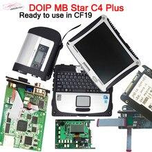 Doip mb estrela c4 plus para carros mb v09.2020 hdd/ssd software completo instalado no portátil cf19 xent-y das dts vediamo mb doip c4 plus