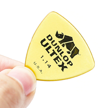 цена на 1 pc Dunlop Ultex Triangle Guitar Pick Plectrum Mediator Bass Mediator Acoustic Electric Classic Guitar Parts Guitar Picks