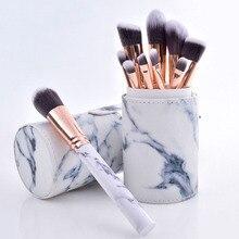 10Pcs Makeup Brush Set Soft Oval brush Shaped Foundation Contour Brush Pow0der Blush Conceler Eyeliner Blending Brush dfdf