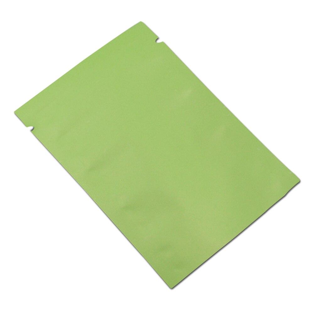 DHL, 2800 шт./лот, матовая зеленая открытая верхняя алюминиевая фольга, сумка для хранения, закуска, кофе, тепловое уплотнение, посылка, мешочки, ... - 2