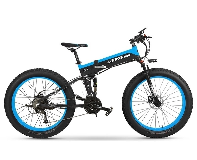 1000W OEM Fat Tire E Bike 48V XT750Plus Spoke wheel Electric Bike / Snow Bike T750 with 10AH L G Lithium Battery 2