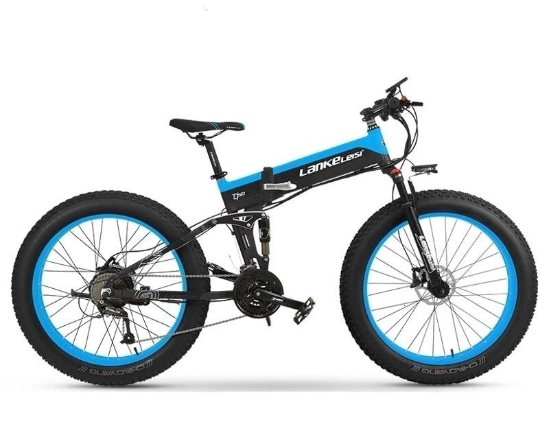 1000W OEM Fat Tire E Bike 48V XT750Plus Spoke wheel Electric Bike / Snow Bike T750 with 10AH L G Lithium Battery 2