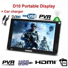 Car-Charger LEADSTAR ATSC Tv-10.2inch Portable Tv USB LED DVB-T2 HDMI Digital-Player
