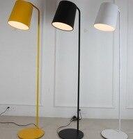Simples colorido lâmpada de assoalho led suporte alumínio tripot|Luminárias de pé| |  -