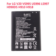 BL-44E1F telefon bateria do LG V20 VS995 US996 LS997 H990DS H910 H918 akumulatorki zamienne 3080mAh