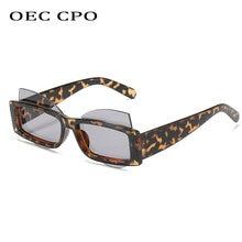 Уникальные Квадратные Солнцезащитные очки oec cpo в стиле панк