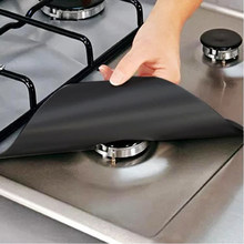 2pc/4pc Reusable Stove Protector Liner Gas Stove Protector Gas Stove top Heat Resistant Kitchen Accessories Mat Cooker Cover