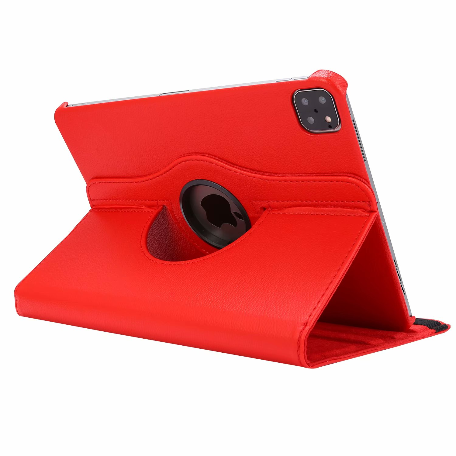 Red Red Case for iPad Pro 11 Cover 2021 2020 2018 A2228 A2068 A2230 A2013 A1934 A1980 360