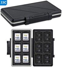 JJC 36 слотов водонепроницаемый чехол для карты памяти кошелек держатель Органайзер для 24 Micro SD MSD TF 12 SD SDXC SDHC коробка для хранения карт