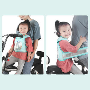 Bike-Seat-Belt Bicycle Cycling-Back-Seat Baby-Girl Children Kid Safety Universal Breathable