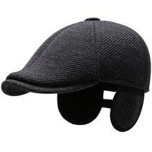 Ht3353 береты на осень и зиму мужской шерстяной берет кепка